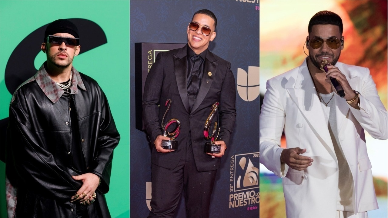 NEW YORK - Puerto Ricans Bad Bunny and Daddy Yankee and New Yorker Romeo Santos were recognized this Tuesday with the Latin Music Awards from the Amer